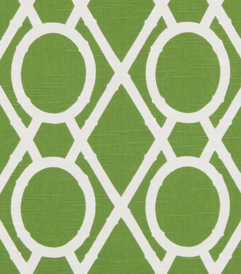 "Robert Allen @ Home Upholstery Fabric 55""-Lattice Bamboo Leaf"