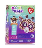 Ty Inc. Beanie Boos® Make & Wear Mask Kit-Safari™ Giraffe, , hi-res
