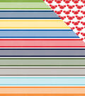 Under The Sea Double-Sided Cardstock 12\u0022X12\u0022-Swimmingly Stripe