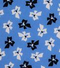1930\u0027s Cotton Fabric 43\u0022-Tossed Bows Blue