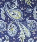 Buttercream™ Stella Collection Cotton Fabric-Paisley Seahorses