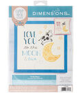 Cathy Heck To The Moon Counted Cross Stitch Kit 14 Count