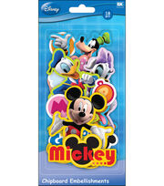 EK Success Disney Chipboard Embellishments-Mickey Friends, , hi-res