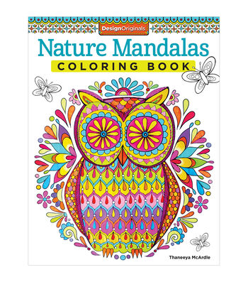 Adult Coloring Book-Design Originals Nature Mandalas