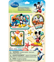 Disney® Dimensional Stickers-Mickey Family Boys, , hi-res