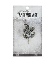 Tim Holtz® Assemblage Charm-Foliage, , hi-res