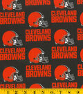 Cleveland Browns Cotton Fabric 58\u0027\u0027-Helmet Logo