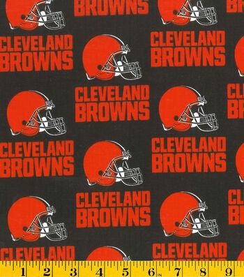 Cleveland Browns Cotton Fabric 58''-Helmet Logo
