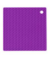 Wilton® Square Silicone Trivet-Purple, , hi-res