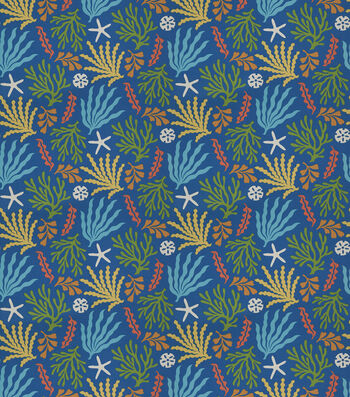 """SMC Designs Upholstery Fabric 54""""-Downfall/Pacific"""