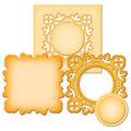 Spellbinders Shapeabilities Die D-Lites-Medallion 2