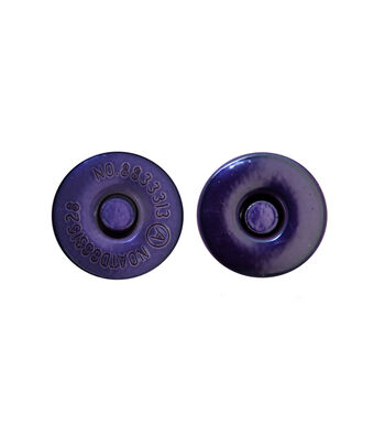 """Everything Mary Purple Large 11/16"""" Magnetic Snaps-2pk"""