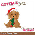 CottageCutz Die Santa Puppy