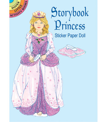 Dover Publications-Storybook Princess Sticker Paper Do