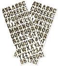 Sticko® Foam Dimensional Alphabet Stickers-Broken Chevron