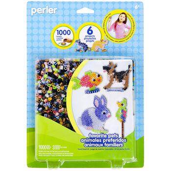 Perler Fun Fusion Fuse Bead Activity Kit-Favorite Pegs
