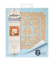Spellbinders® Nestabilities® 3 Pack Etched Die-Fleur De Square, , hi-res