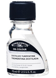 Winsor & Newton Distilled Turpentine-75ml, , hi-res