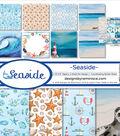 Reminisce Collection Kit 12\u0022X12\u0022-Seaside