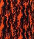 Novelty Cotton Fabric 44\u0027\u0027-Flame