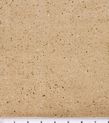 "Keepsake Calico™ Cotton Fabric 44""-Gravel Tan"
