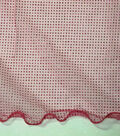 Wired Glitter Tulle Fabric-Fuchsia