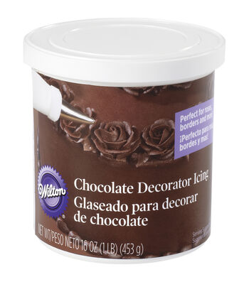 Wilton® Ready-To-Use Decorator Icing-Chocolate