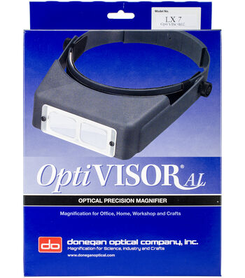 Donegan OptiVISOR LX Binocular Magnifier-Lensplate