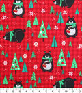 Keepsake Calico™ Holiday Cotton Fabric 43\u0022-Northwood Bears on Plaid