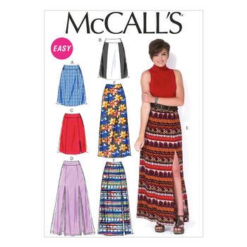 McCall's Misses Skirt-M7096