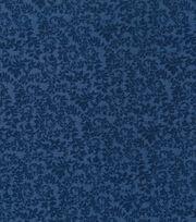 "Keepsake Calico™ Cotton Fabric 43""-Swirling Vines Blue, , hi-res"