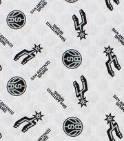 "San Antonio Spurs Cotton Fabric 44""-Logo Toss, , hi-res"