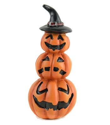 Maker's Halloween Littles 3.25'' Stacked Pumpkins