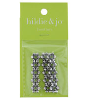 hildie & jo™ 3 Pack Flower Antique Silver End Bars, , hi-res