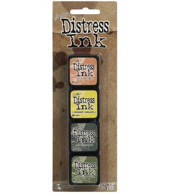 Tim Holtz Distress Mini Ink Kits-Kit 10