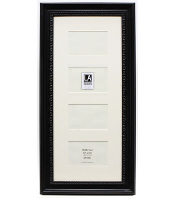 LA Collection Frameworks Series 4 Openings Collage Frame-Black & Cream