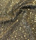 Sequin Fabric 44\u0022-Tossed Confetti Yellow