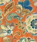 IMAN Home Upholstery Fabric 54\u0022-Javanese Garden/Henna