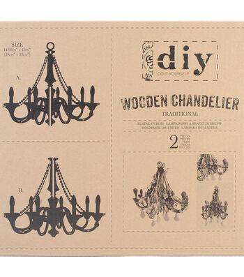 Traditionl-diy Wd Chandelier