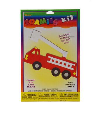 Darice Foamies Kit-Fire Truck