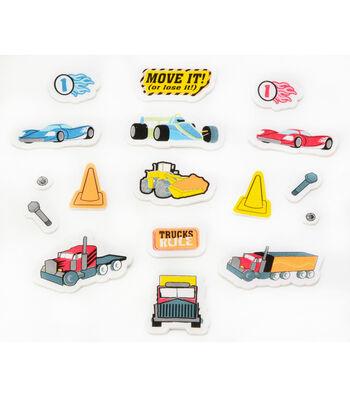 Foamies Printed Stickers Vehicle