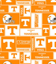 University of Tennessee Volunteers Fleece Fabric 58''-Block, , hi-res
