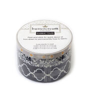 Buttercream™ Audrey Collection Fabric Tape-Quatrefoil, , hi-res