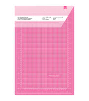 "Pink Double-Sided Self-Healing Cutting Mat 12""X18""-, , hi-res"