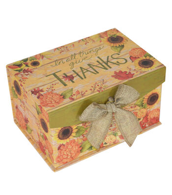 Organizing Essentials™ Small 2 Fliptop-In All Things Give Thanks