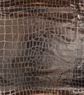 The Witching Hour Costume Fabric 58\u0022-Crocodile Foil Silver