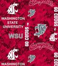 Washington State University Cougars Fleece Fabric 60\u0022-Digital Camo