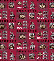 "Ohio State University Buckeyes Cotton Fabric 44""-Logo Patch, , hi-res"