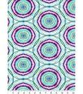 Luxe Flannel Fabric 42\u0027\u0027-Boho Circles