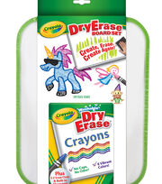 Busy Kids Learning Crayola Dry Erase Board Set, , hi-res